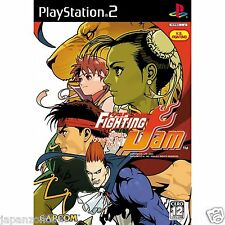 Used PS2 Capcom Fighting Jam SONY PLAYSTATION JAPAN IMPORT