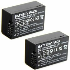 2x 7.2v 1300mAh Li-ion Battery for Leica BP-DC9-U LEICA V-LUX2 V-LUX3 Camera New
