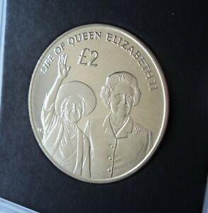 2012 British Indian Ocean Life Queen Elizabeth II Jubilee £2 Crown Coin (BU UNC)
