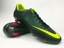 Nike Mens Rare Mercurial Miracle lll Fg 509122-376 Black Green Cleats Size 13