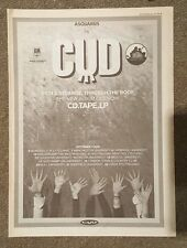 CUD 1992  press advert Full page 30 x 42 cm poster