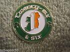 Twenty-Six & Six = One Ireland Badge Pin Celtic Sinn Fein Irish Badge AOH LAOH