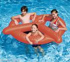 """GIANT PRETZEL FLOAT Pool Inflatable 63"""" UNIQUE Vinyl Party Beach Swimline 90640"""