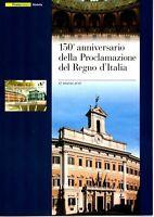 ITALIA - FOLDER 2011 - 150° UNITA' D'ITALIA - AL VALORE FACCIALE