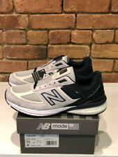 NEW BALANCE SHOES STYLE M990GT5 COLOR GREY/NAVY MADE IN THE USA WIDTH D