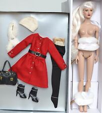 """Diana Prince Tonner 16"""" Diana NUDE Doll & Winter Princess OUTFIT   NEW"""