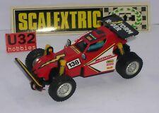 SCALEXTRIC EXIN 7301 BUGGY CHEVAUCHEUR DE TEMPÊTE TT #138 EXCELLENT ETAT
