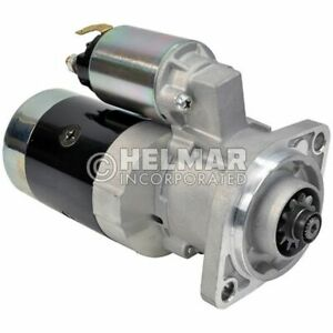 For Clark Forklift Starter Heavy Duty 911410-HD Straight Drive :No Gear Reductio