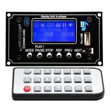 DC 12V Bluetooth MP3 Decoder Board Modul SD USB AUX FM Fernbedienung Remote Neu
