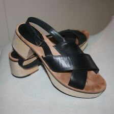 Country Road Leather Clogs Shoes for Women