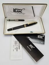 VINTAGE MONTBLANC MEISTERSTUCK FOUNTAIN PEN W/ BOX & PAPERS