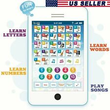 Children TABLET Computer PAD Educational Learning Game Toy Kids For Boys Girl US