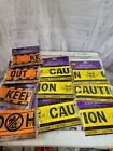Halloween decor tape freight caution keep out new