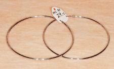 Boucles d'Oreilles Créoles en Argent 925/1000ème  - Réf. 011171