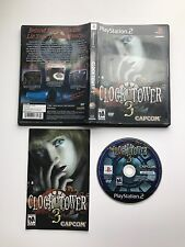 Clock Tower 3 Sony PlayStation 2 PS2 - Complete, Tested & Works! Free Shipping!