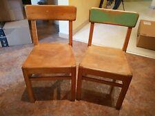 2 kleine Holzstühle,Kinderstuhl, Kindergarten, Holz, Stuhl, stabil