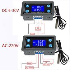 Thermostat Digital Display Temperature Controller Module w/ NTC10K/B3950 Sensor