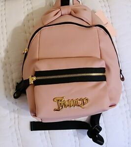 NWT Juicy Couture Taffy All About That Bow Small Backpack Purse Ret $ 99.00