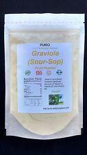 Graviola Soursop 10 Lb  SUPERFOOD Freeze Dried Fruit Powder PURO GUANABANA