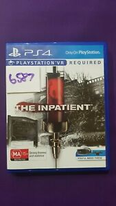 The Inpatient VR Playstation 4 PS4 game. Brand New PAL
