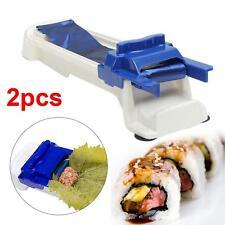 2 Sushi Roller Machine Kitchen Gadgets Magic Maker Perfect Leaf Roll DIY Tool KJ