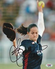 CAT OSTERMAN SIGNED AUTO'D 8X10 PHOTO PSA/DNA COA TEXAS LONGHORNS USA SOFTBALL