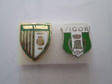 lotto 2 pins lot VIGOR LAMEZIA FC club spilla football calcio pins spille