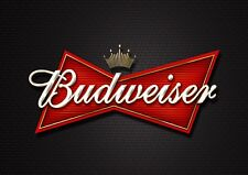 Budweiser - A4 Glossy Poster - Film Movie Free Shipping #606