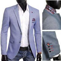 Mens Blazer Jacket Casual Formal Spotted  Pattern Paisley Finish UK Size Cotton