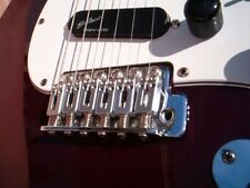 LR Baggs X-Bridge Vintage Stratocaster Guitar Piezo Bridge Pickup, Chrome NEW!