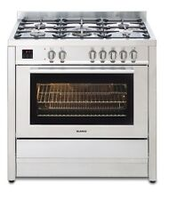 Blanco 90cm 5 Burners Freestanding Cooker Dual Fuel 97L BFD9058WX RRP $3499