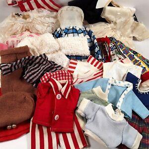 Vtg FASHION DOLL CLOTHES LOT 10-1/2 inch Miss Revlon Jill AC Toni Bride 24 piece