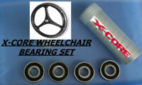WHEELCHAIR BEARINGS, SET, X CORE XCORE, GENUINE FACTORY REPLACEMENT- X 4