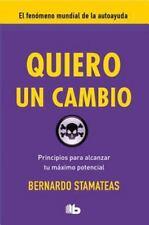Quiero un cambio (Spanish Edition)
