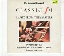(GR526) Music From The Masters Vol 2, 8 tracks - 2010 The Sunday Telegraph CD