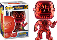"""Funko Marvel Avengers Infinity War Special Edition Red Thanos 4"""" Action Figure"""