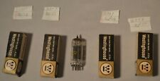 Vacuum Tube 12Bh7A Tested Lot - 4 Tubes - Westinghouse - D Getter & O
