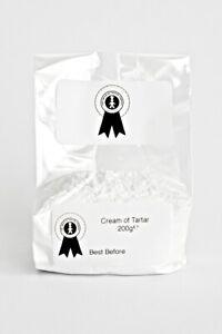 cream of tartar for making play dough Grade A premium quality 200g