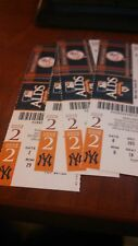 2010 NEW YORK YANKEES ALDS HOME GAME #2 TICKET STUBS DEREK JETER