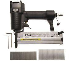 BGS Kombi Druckluft Nagler und Klammergerät 2 in 1 Druckluft Tacker Nagler 50 mm