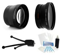 58mm hd 2.0x conveter lens and wide angle for Canon EF 24mm f/2.8 IS USM