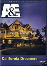 A&E- California Dreamers: Winchester & Scotty Castles - new/sealed DVD