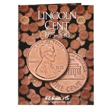 H E HARRIS 2674 Coin Folder LINCOLN CENT Penny #3 1975 - 2013  Album / Book