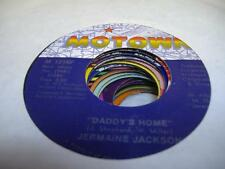 Soul 45 JERMAINE JACKSON Daddy's Home on Motown 6