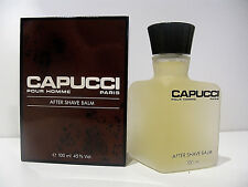 FIRST ED VINTAGE CAPUCCI POUR HOMME DOPOBARBA AFTER SHAVE BALM FOR MEN MAN UOMO