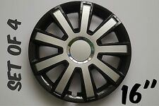 """SET OF 4 16"""" UNIVERSAL WHEEL TRIMS COVER,RIMS,HUB,CAPS TO FIT CHRYSLER +GIFT #10"""