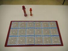 My Lucky Bingo mat  non slip paper card holder