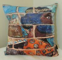 RARE Persian Persepolis Soldiers Historic Art Sonnati Cushion Cover Pillow Case