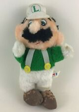 "Super Mario Bros Nintendo Luigi Vintage 1988 Plush Stuffed Animal Toy 10"" Acme"