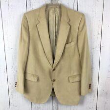 Vintage Lanvin Paris New York Feather Suede Woven Two Button Blazer Jacket Coat